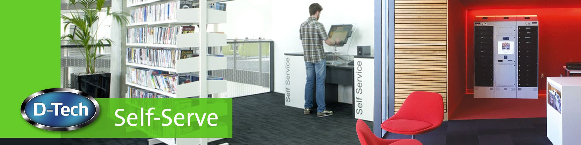 Self-service Kiosks for Libraries